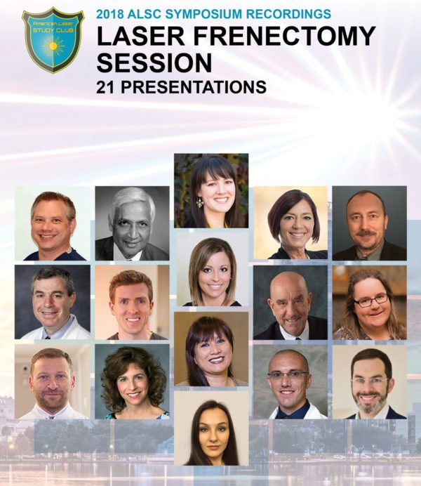2018 ALSC Symposium Presentation Recordings – Laser Frenectomy Session